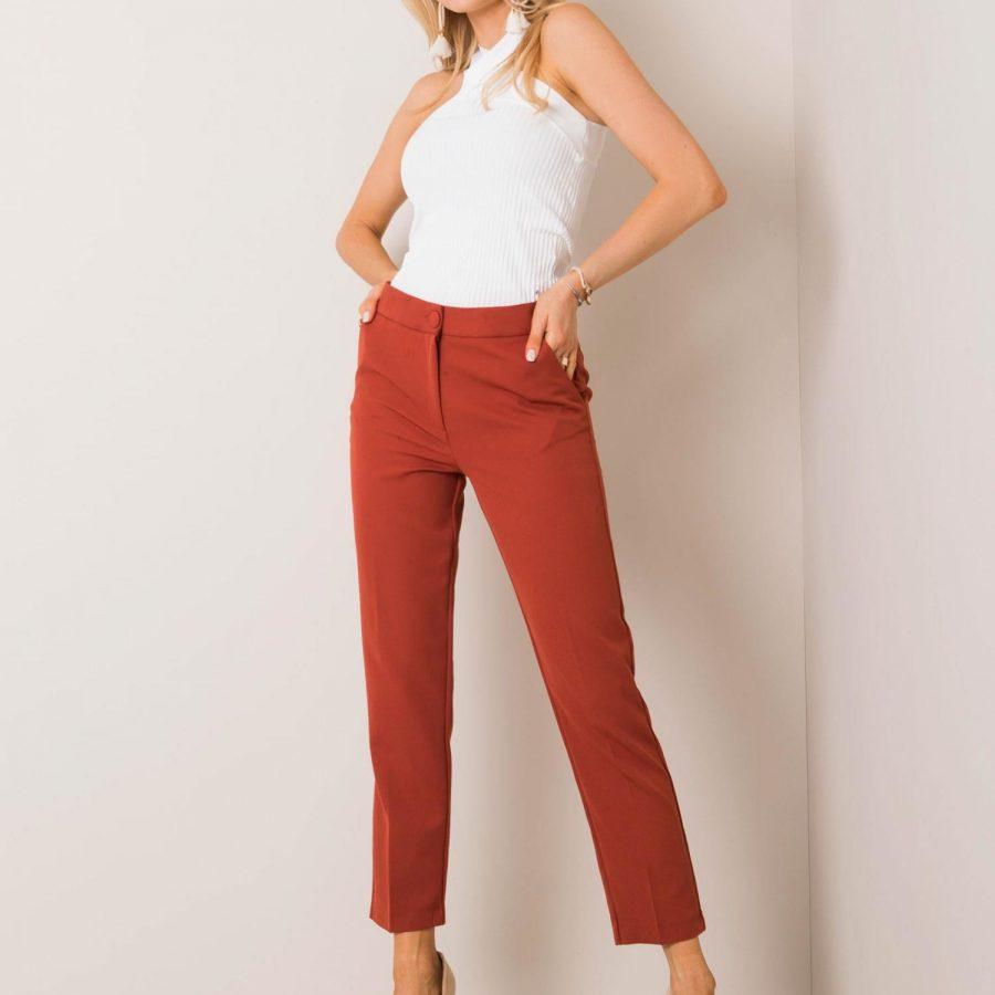Spodnie-123-SP-173024.60P-brązowy