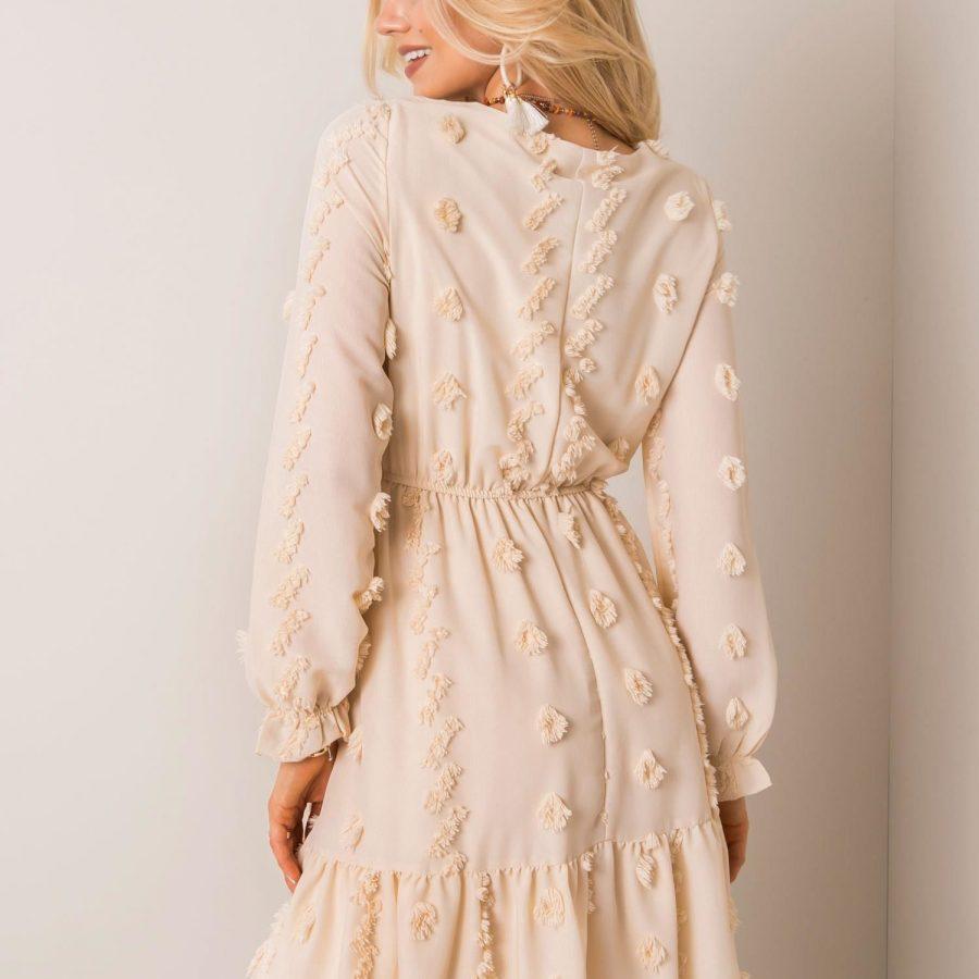 Sukienka-123-SK-3315.57P-beżowy