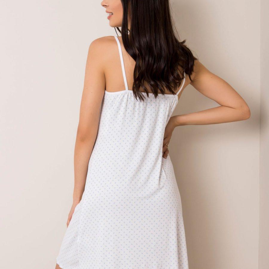 Koszula nocna-BR-KN-1218.22-biało-niebieski