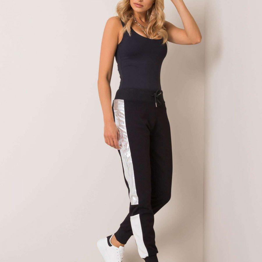 Spodnie dresowe-131-KR2500.40P-czarny