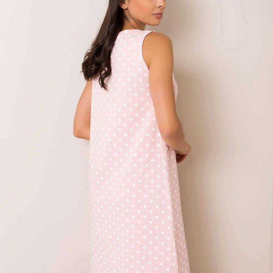 Koszula nocna-BR-KN-3261-jasny różowy