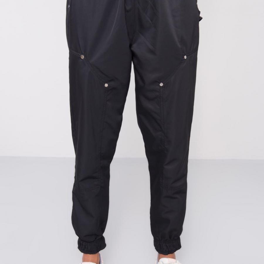 Spodnie dresowe-15511-czarny