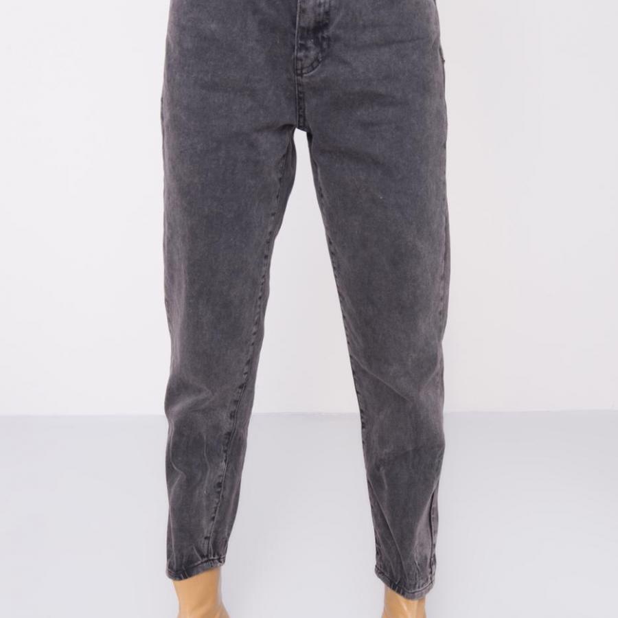 Spodnie jeans-15452-czarny