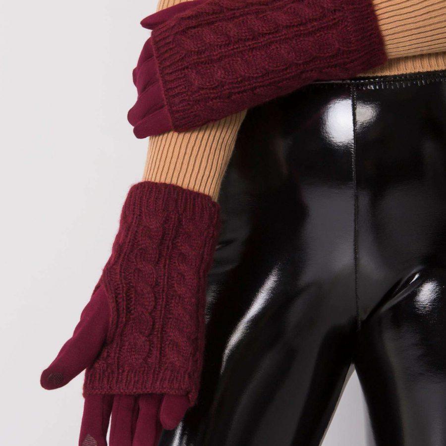 Rękawiczki-YP-RK-bx4068.96-bordowy