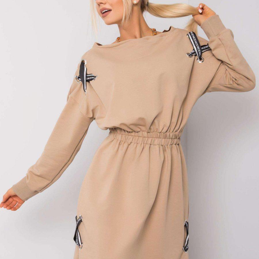 Sukienka-EM-SK-EW20408.04P-beżowy