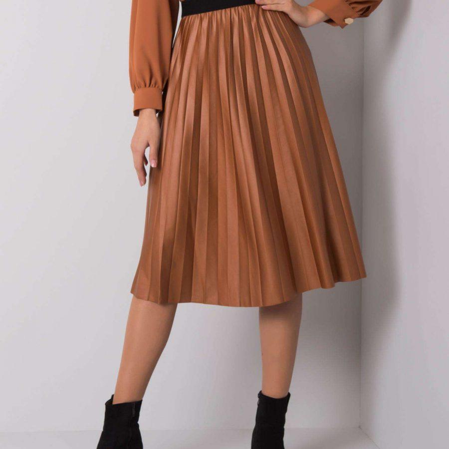 Spódnica-D45361F50195-brązowy
