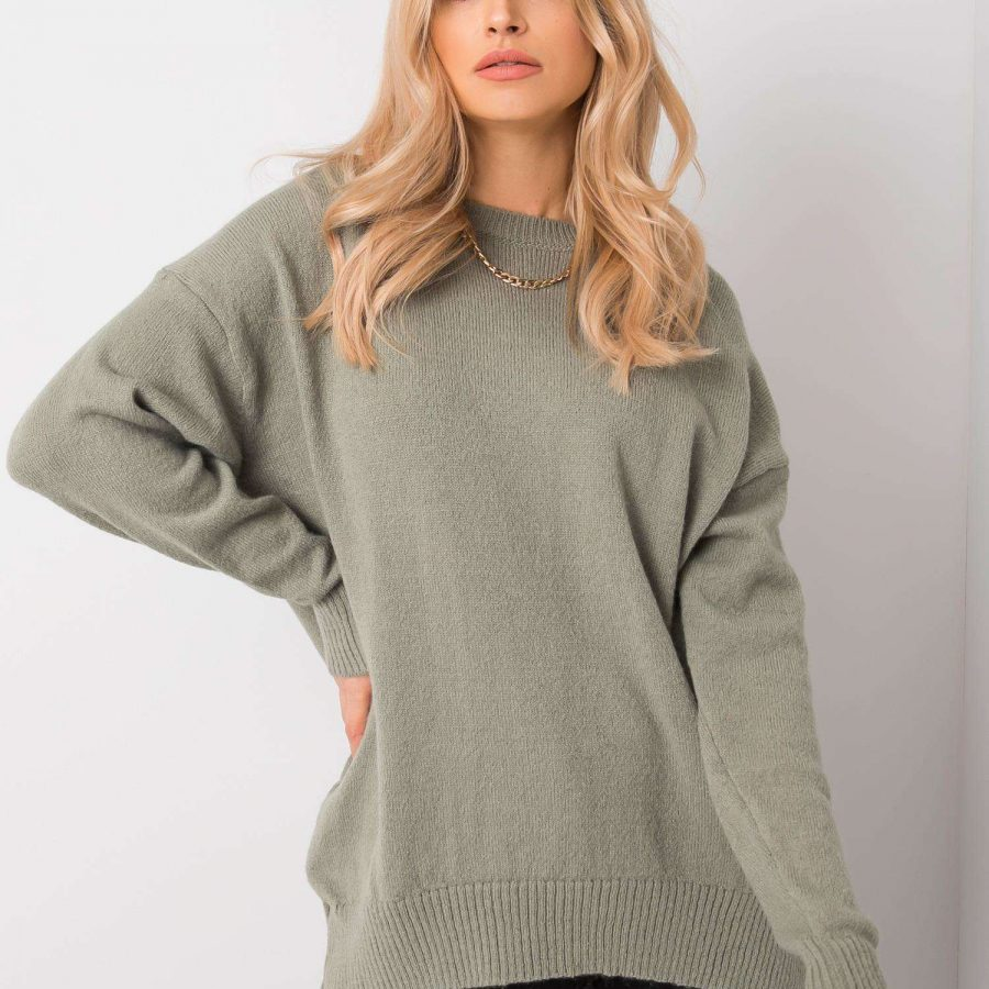 Sweter-269-SW-5190.73P-mietowy