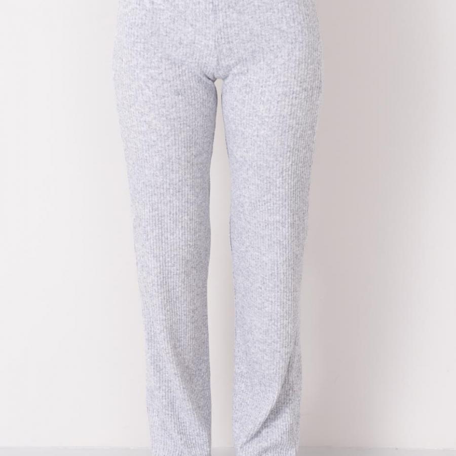 Spodnie-15774-jasny szary