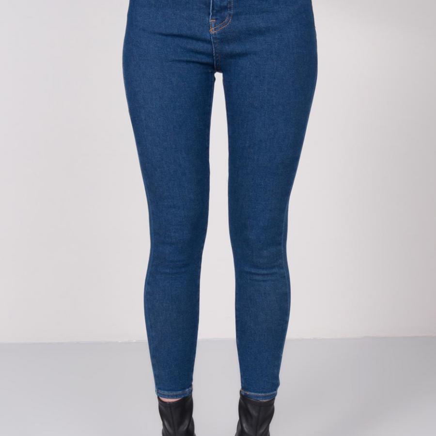 Spodnie jeans-15676-ciemny niebieski