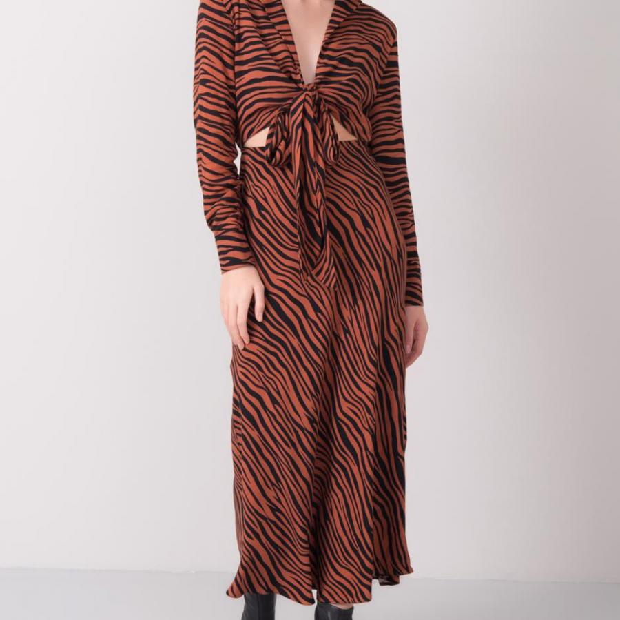 Sukienka-15859-brązowy