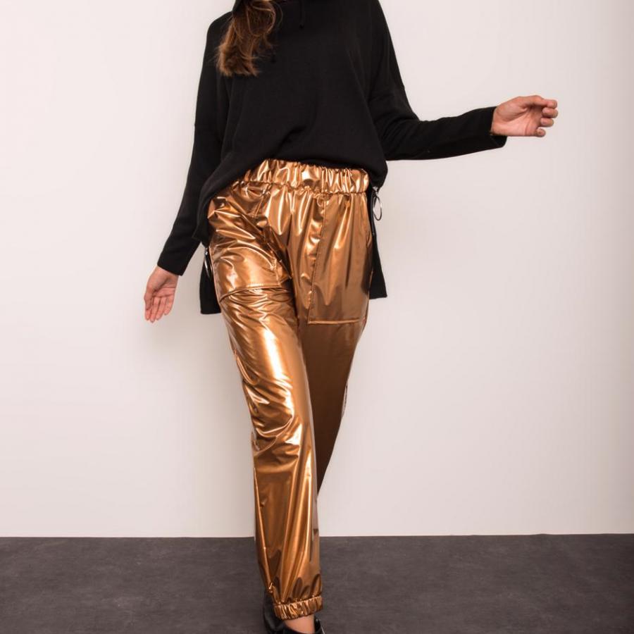 Spodnie-14255-złoty
