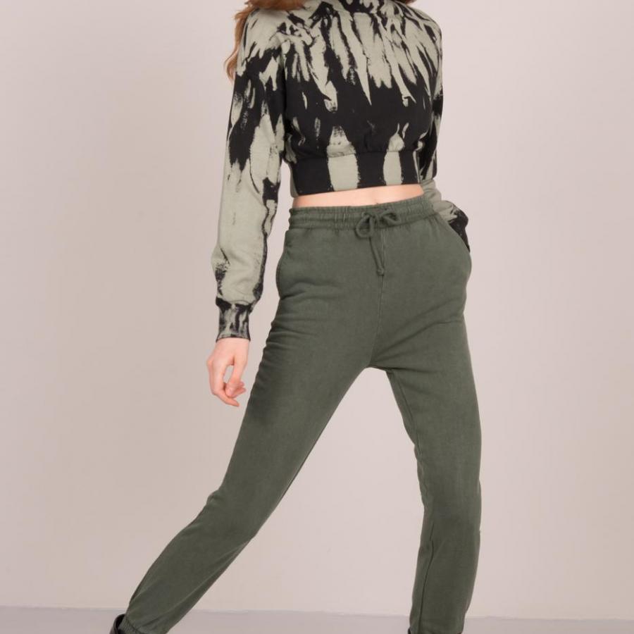 Spodnie dresowe-15661-khaki [zul]