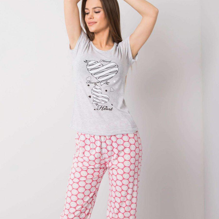Piżama-SY-PI-20083-szary