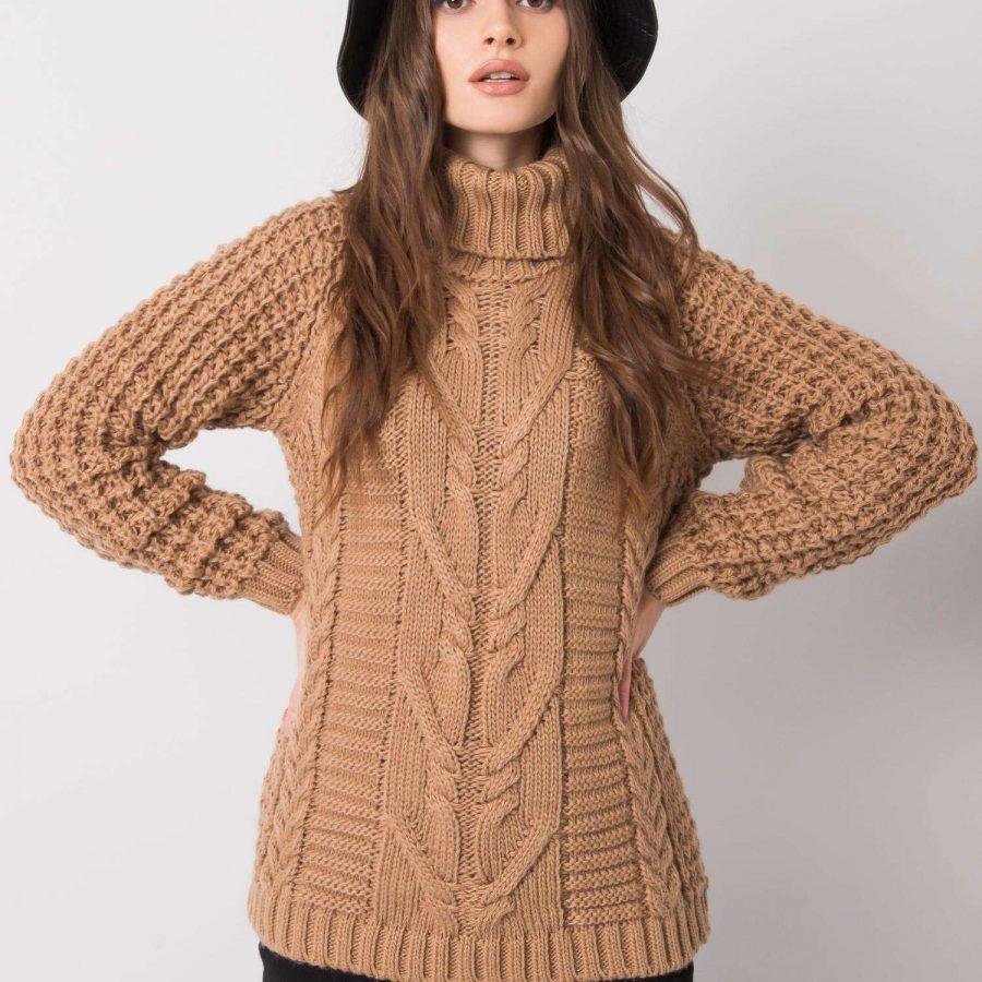 Sweter-CA-SW-3727.12X-camelowy