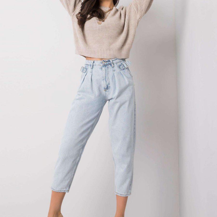 Spodnie jeans-318-SP-2207.98P-jasny niebieski