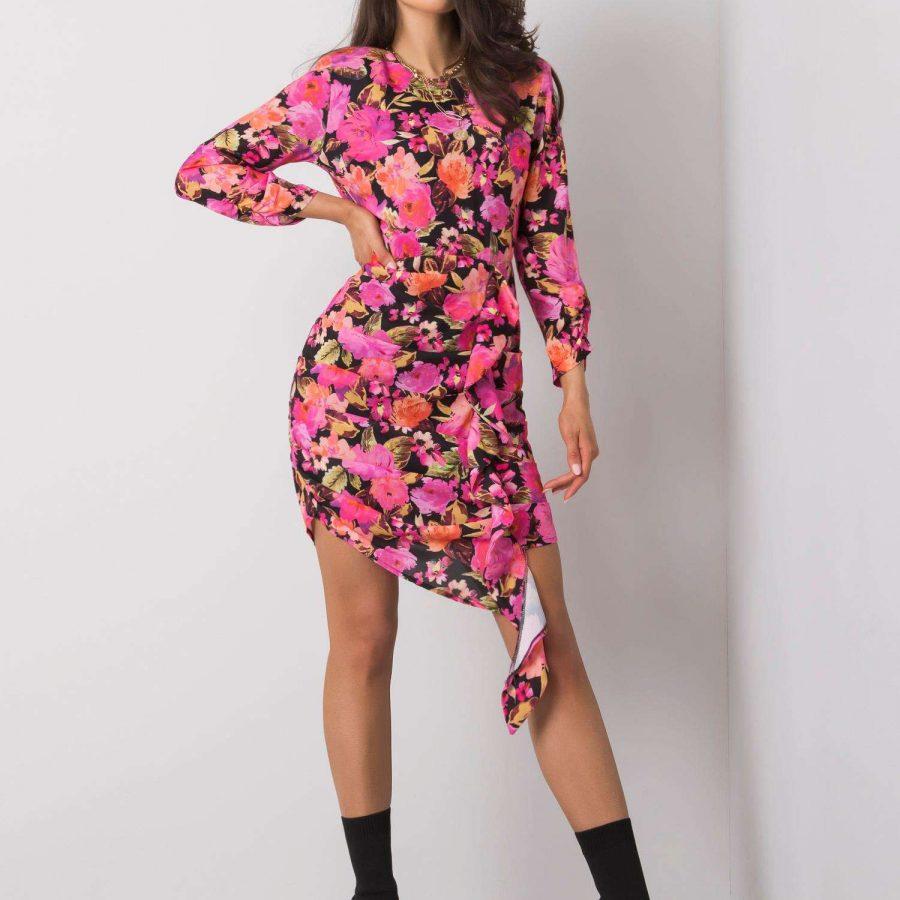 Sukienka-322-SK-10096.60P-różowy