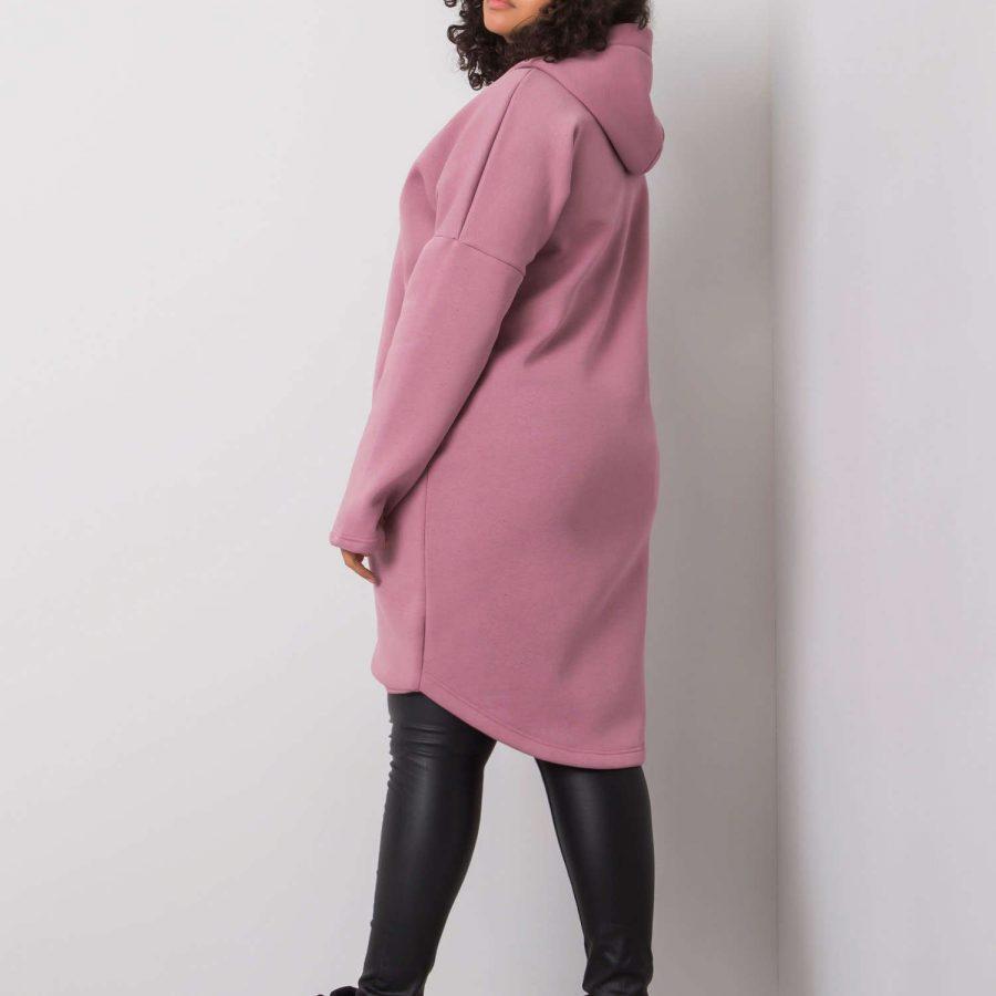 Bluza-RV-BL-6293.32-ciemny różowy
