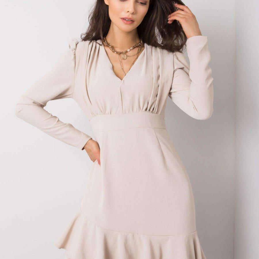 Sukienka-321-SK-1131.10-beżowy