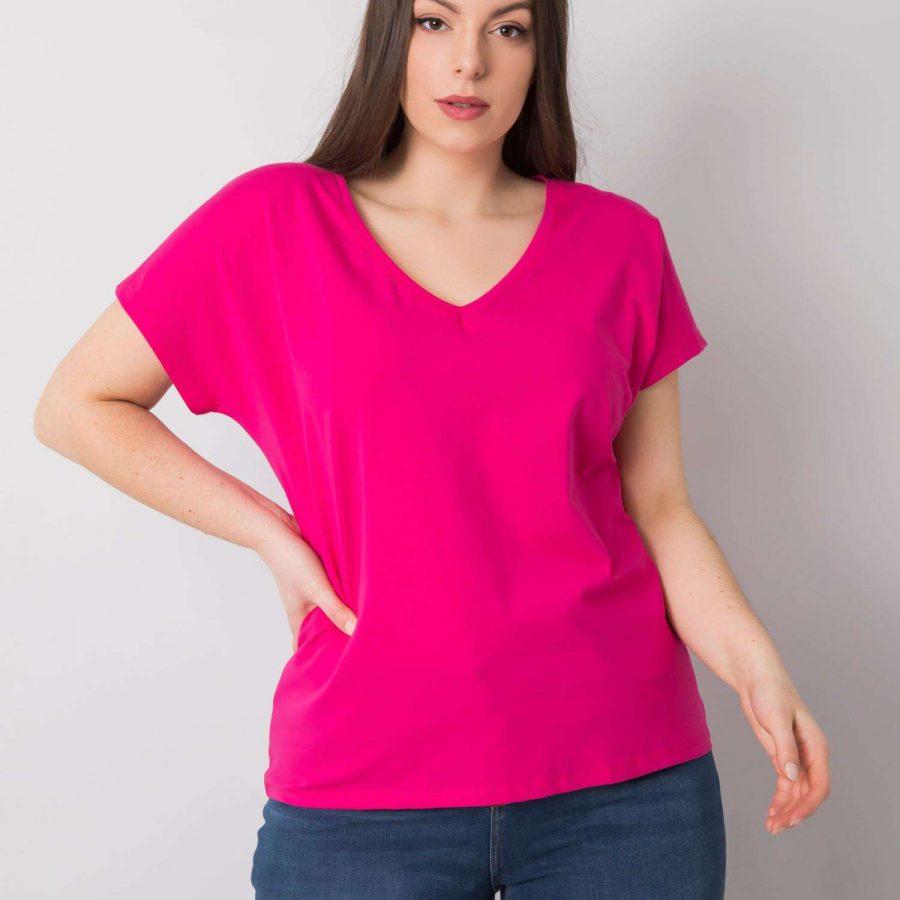 T-shirt-RV-TS-6305.22P-fuksjowy